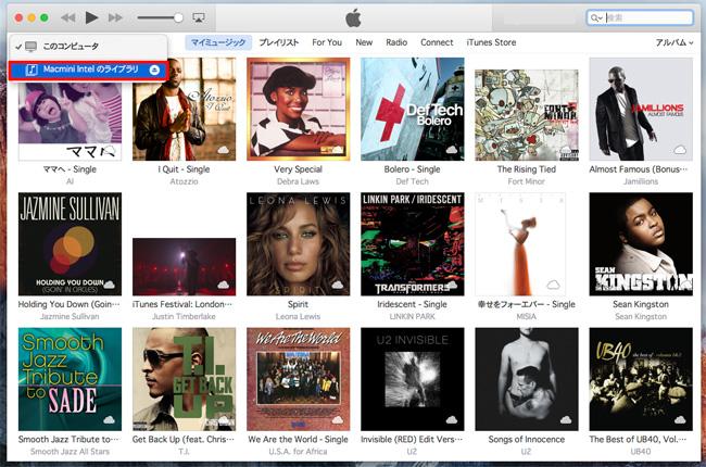 iTunes共有
