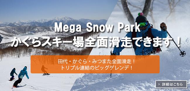 かぐら・みつまた・田代スキー場