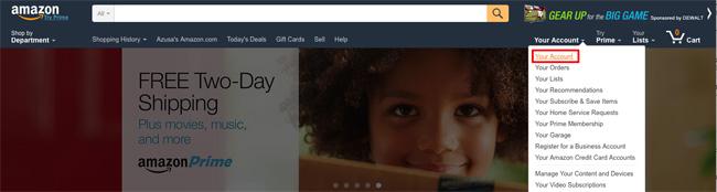 米Amazon 2段階認証