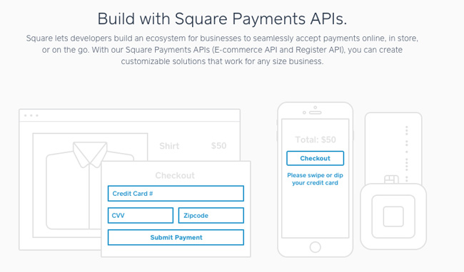 Square Payments APIs