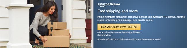 米Amazonプライム