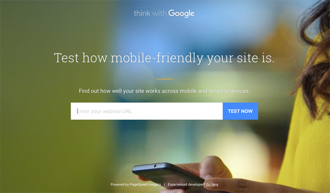 Test how mobile-friendly your site is