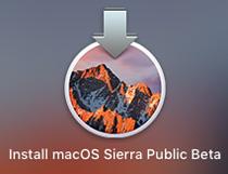 macOS Sierra インストーラー
