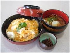 名古屋コーチン親子丼と小きしめん
