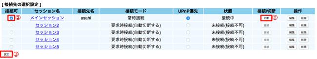 PR-500KI 管理画面