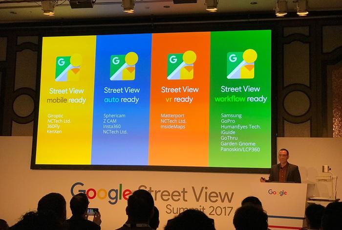 Google Street View Summit 2017 Tokyo