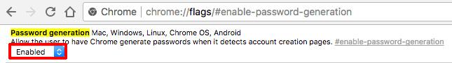 Chrome パスワード 自動生成