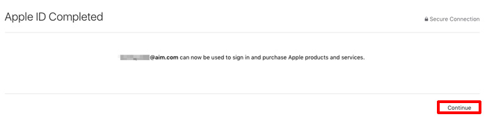 アメリカのApple ID 作成