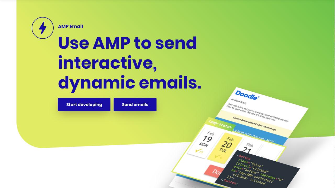 AMP Conf 2018で発表された「AMP for Email」とは?