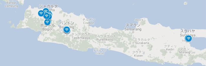 インドネシアの「Google Station」