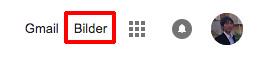 画像検索 ブラウザ右上の「blider」にアクセス