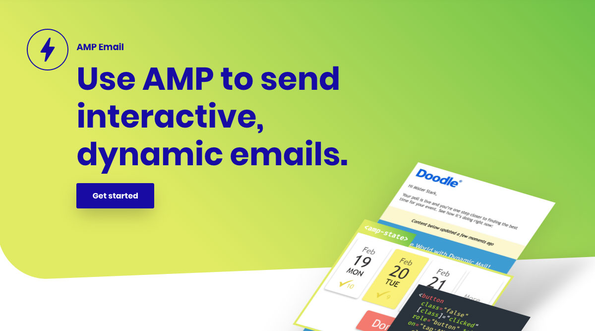 G Suiteで「AMP for Email」を有効にする