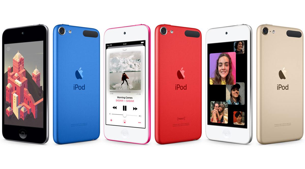 新型 iPod touch 第7世代