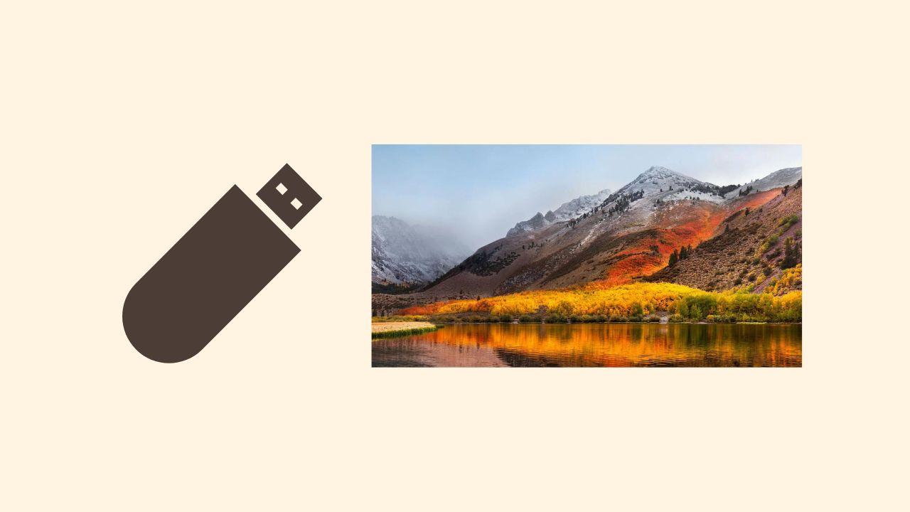 macOS High Sierraのインストール用USBメモリを作成する方法