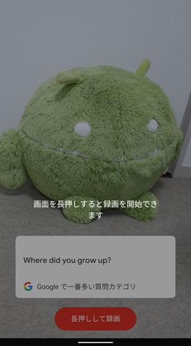 Cameos、アプリを立ち上げると質問が表示され、動画を録画できる