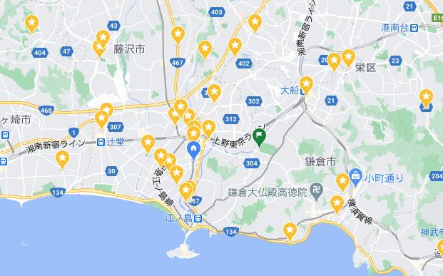 ユーザーが保存してピンを立てているお店はGoogleマップに表示