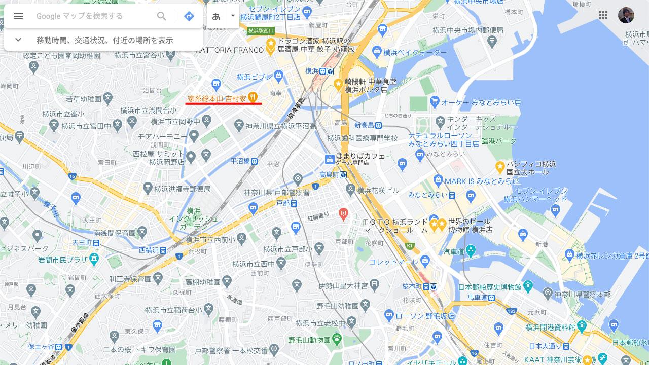 Googleマップ、検索せずに表示されるお店の特徴